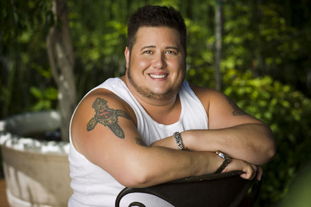Chaz Bono at his home in West Hollywood on August 23, 2011..Photo by Christopher Polk/Getty Images