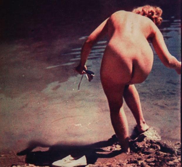 La Amante De Hitler Salen A La Luz Fotos De Eva Braun Desnuda